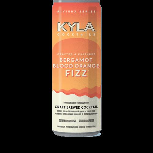 Kyla Bergamot Blood Orange Fizz Hard Kombucha ABV: 7% 12 fl oz