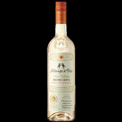 Menage a Trois Sweet White Moscato ABV: 9.5% 750 mL