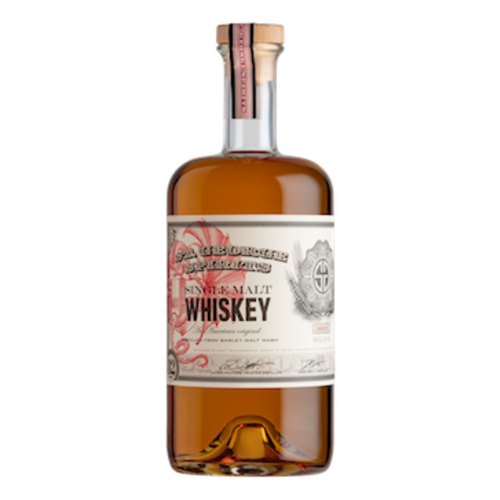 St. George Spirits Single Malt Whiskey ABV: 43% 750 mL
