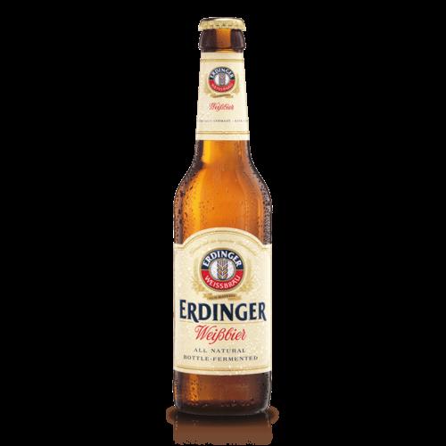 Erdinger Weissbier Hefeweizen ABV: 5.7% 12 fl oz 6-Pack