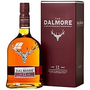 The Dalmore Single Malt 12 Years Whisky ABV: 40% 750 mL