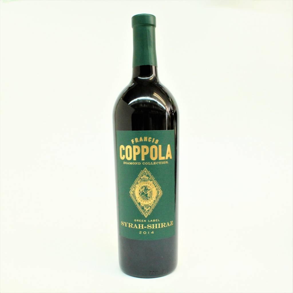 Francis Ford Coppola Green Label 2014 Syrah-Shiraz ABV: 13.5 750 mL