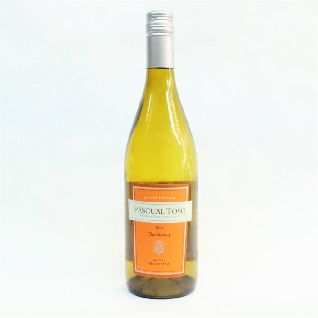 Pascual Toso Mendoza 2016 Chardonnay ABV: 12.5% 750 mL