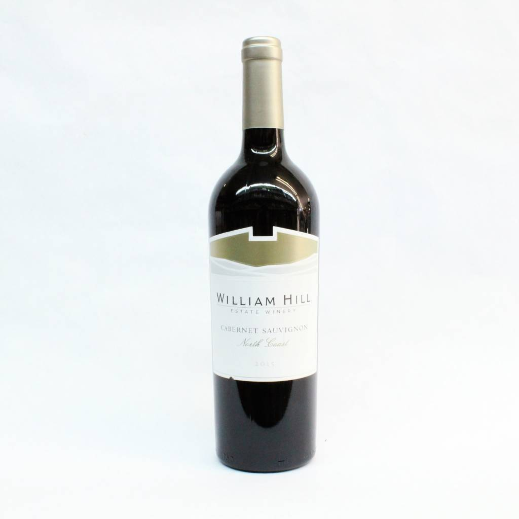 William Hill North Coast 2015 Cabernet Sauvignon ABV: 13.9% 750 mL