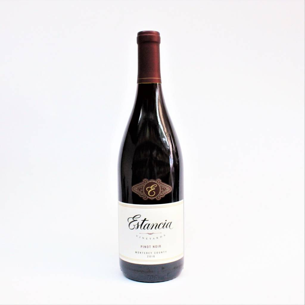 Estancia Monterey 2016 Pinot Noir ABV: 13.5% 750 mL