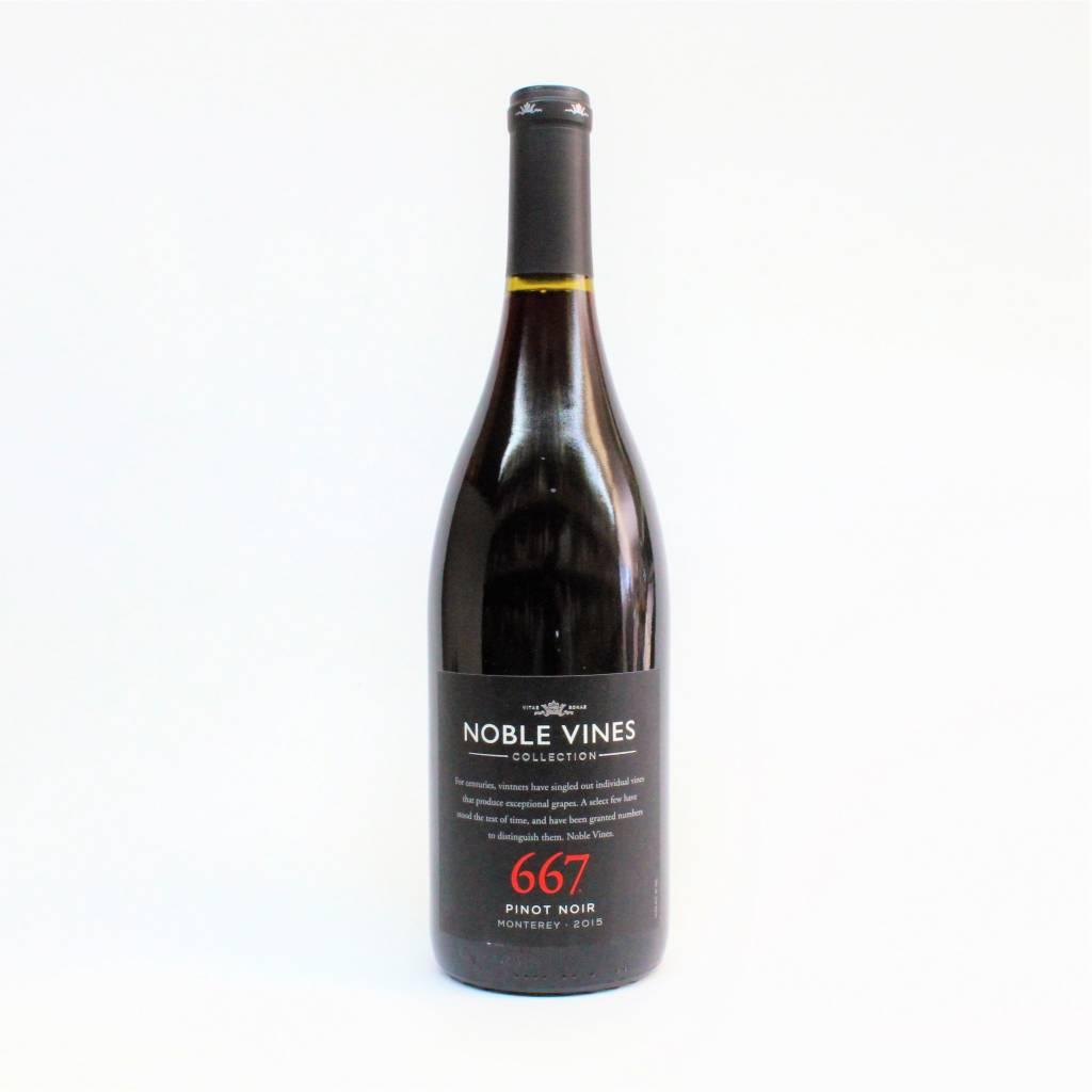 Noble Vines 667 Monterey 2015 Pinot Noir ABV: 14.5% 750 mL