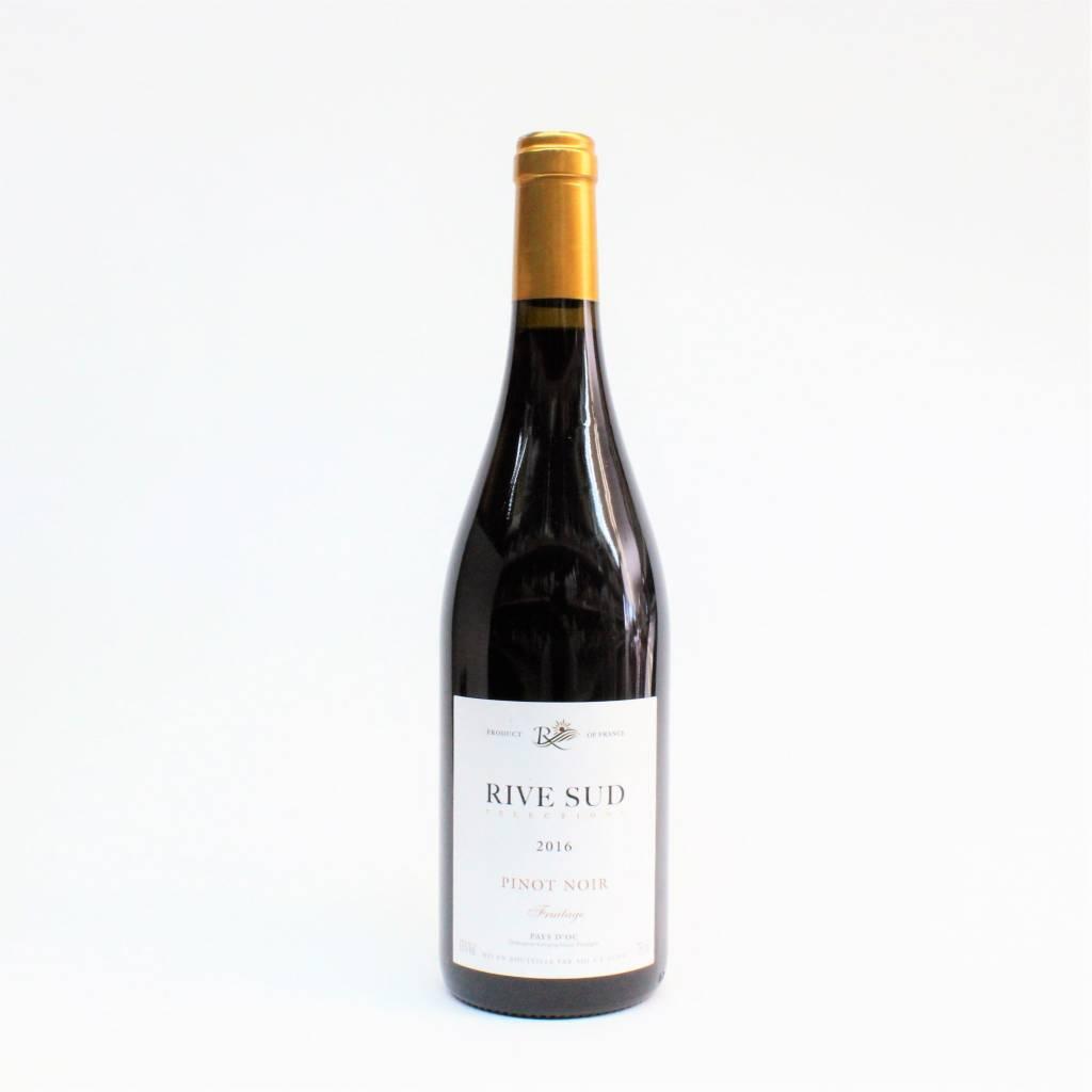 Rive Sud Pay d'Oc 2018 Pinot Noir ABV: 13% 750 mL