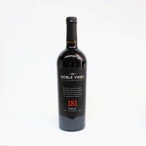 Noble Vines 181 2014 Merlot ABV: 14.5% 750 mL