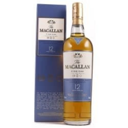 The Macallan Highland Double Cask 12 Years Scotch Whiskey ABV: 43% 750 mL