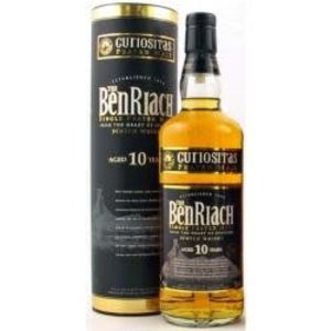 Benriach Single Malt Scotch Whiskey 10 Year ABV: 46% 750 mL