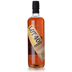 Lot No. 40 Canadian Rye Whiskey ABV: 43% 750 mL