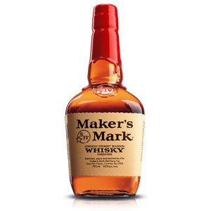 Maker's Mark Bourbon ABV: 45%