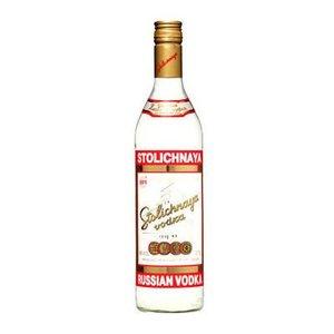 Stolichnaya Vodka ABV: 40%