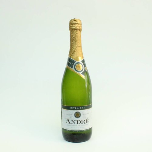 Andre Extra Dry Champagne ABV: 10.5% 750 mL
