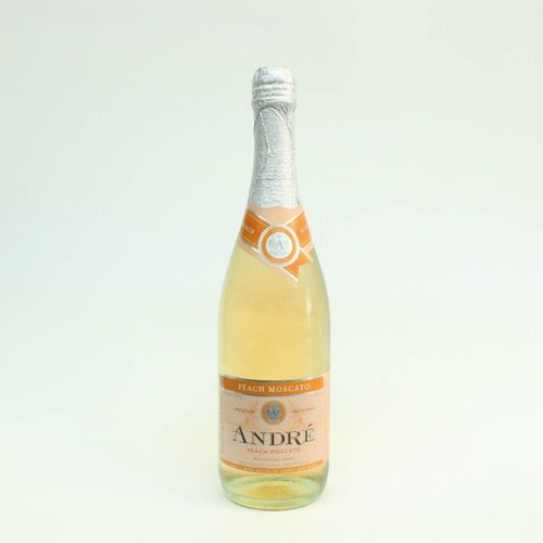 Andre Peach Moscato ABV: 6.5% 750 mL