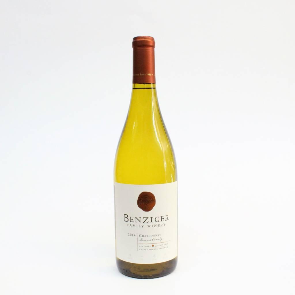 Benziger Sonoma 2014 Chardonnay ABV: 13.5% 750 mL