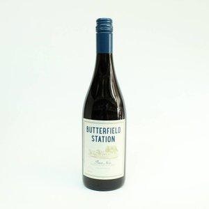 Butterfield Station 2018 Pinot Noir ABV: 13.5% 750 mL