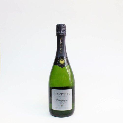 Tott's Brut Champagne ABV: 10.5% 750 mL