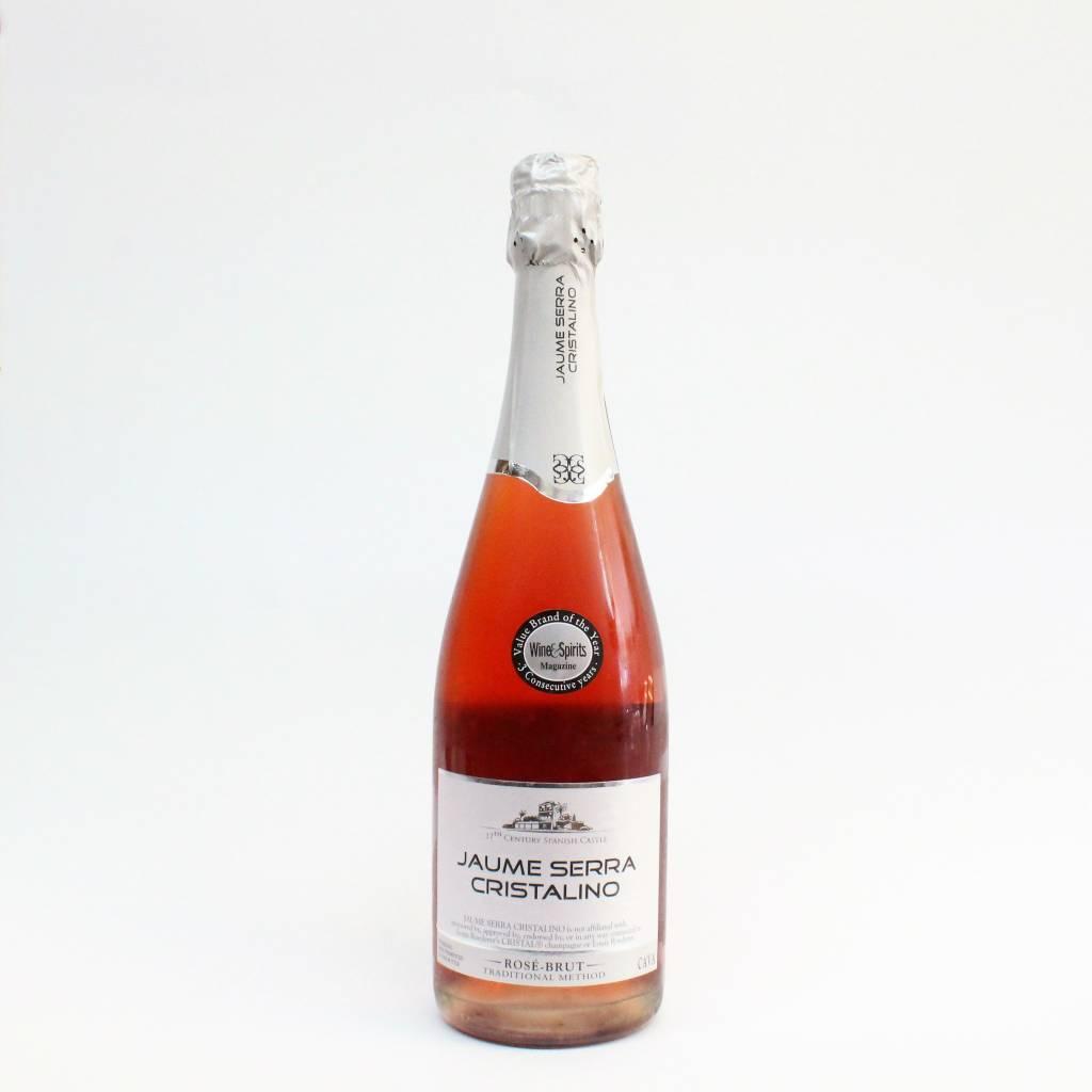 Jaume Serra Cristalino Rose ABV: 11.5% 750 mL