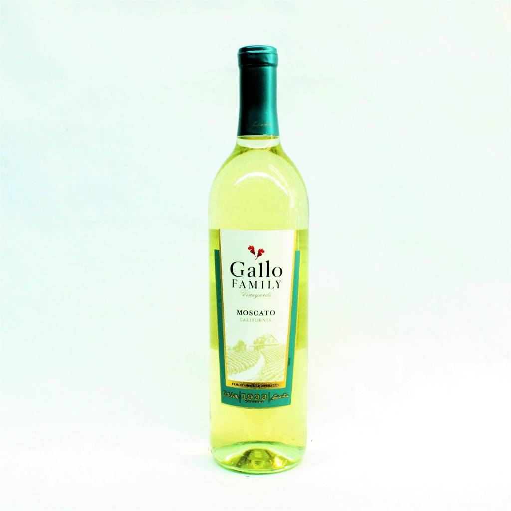Gallo Family 2016 Moscato ABV: 9% 750 mL