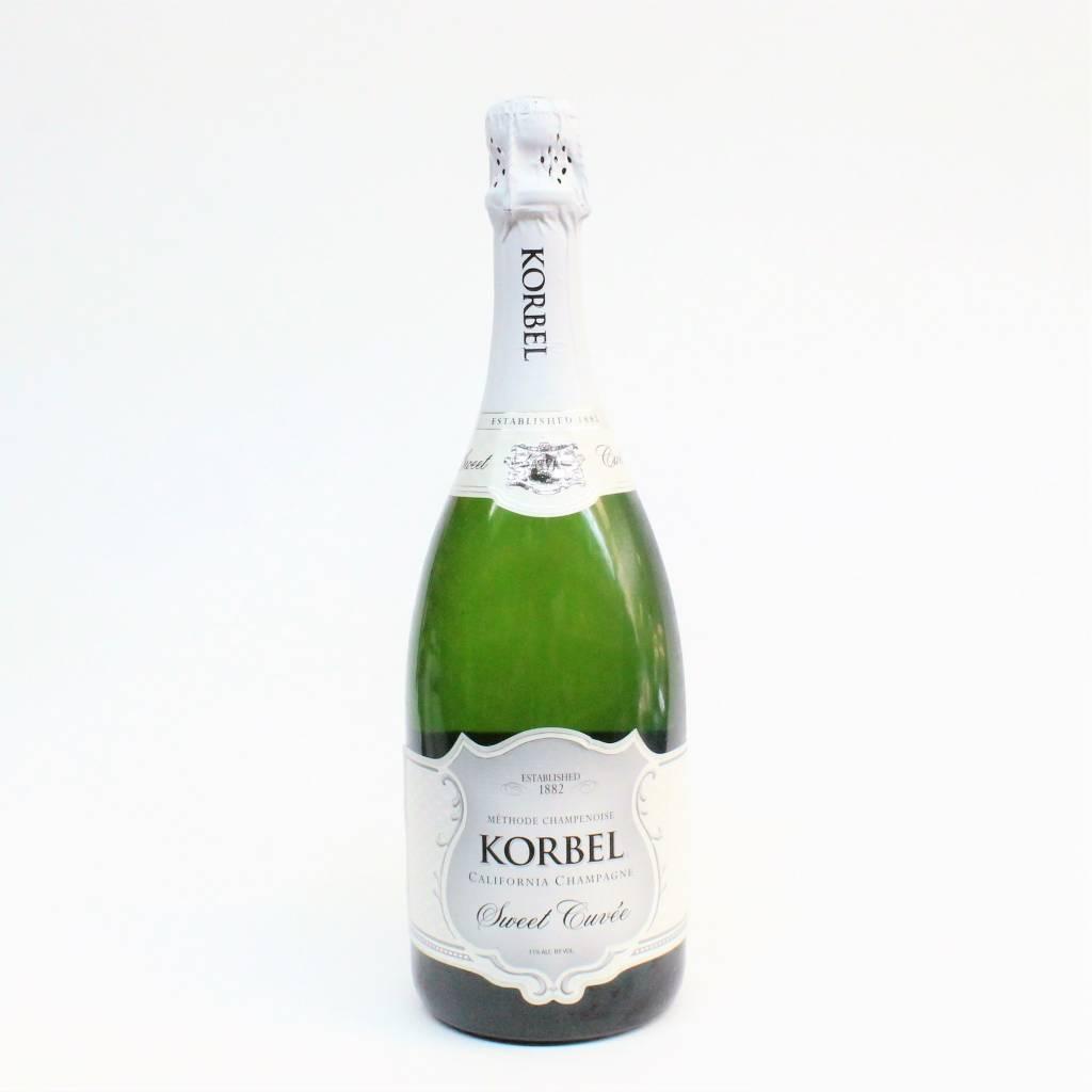 Korbel Champagne Sweet Cuvee ABV: 11% 750 mL