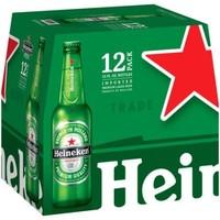 Heineken Regular ABV: 5% Bottle 12 fl oz