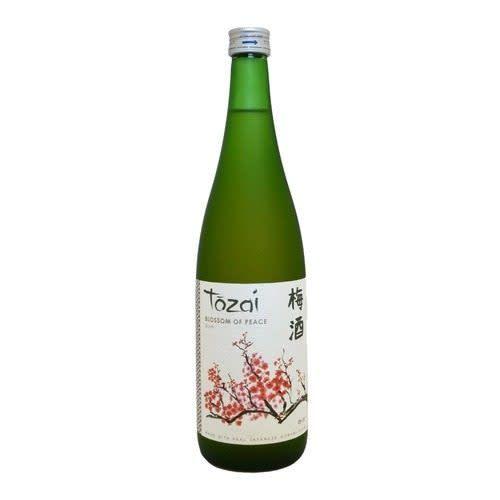 Tozai Blossom of Peace Plum Sake ABV: 10.5% 750 mL