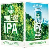 Golden Road Wolf Among Weeds IPA ABV: 8% Can 12 fl oz 6-Pack