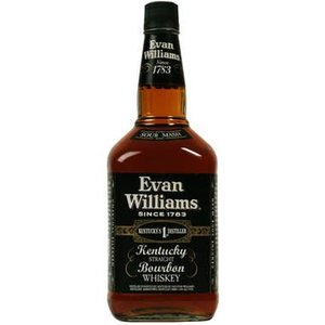 Evan Williams Kentucky Bourbon ABV: 43%
