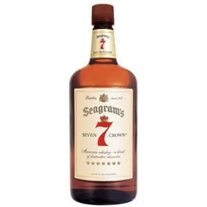 Seagram 7 Crown Whiskey ABV: 40%