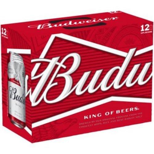 Budweiser Regular ABV: 5% Can 12 fl oz