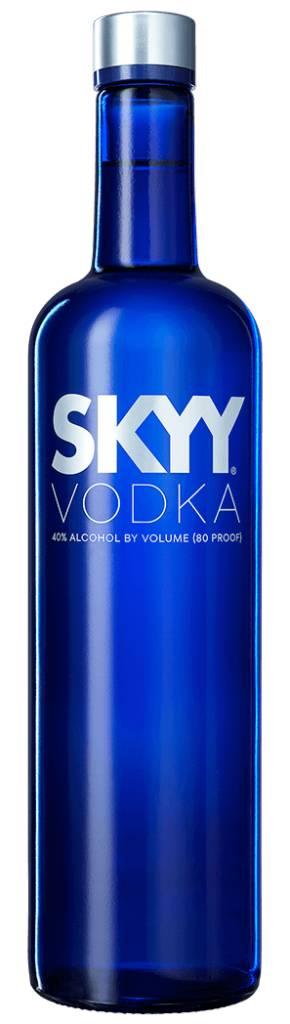 Skyy Vodka ABV: 40%
