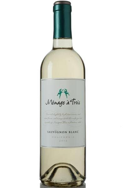 Menage a Trois 2016 Sauvignon Blanc ABV: 13% 750 mL