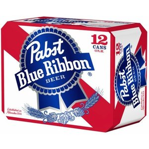 Pabst Blue Ribbon ABV: 5% Can 12 fl oz 12-Pack