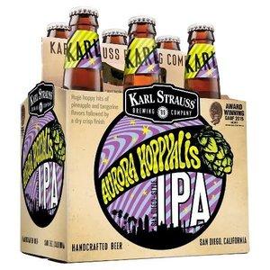 Karl Strauss Aurora Hoppyalis IPA ABV: 7% Bottle 12 fl oz 6-pack