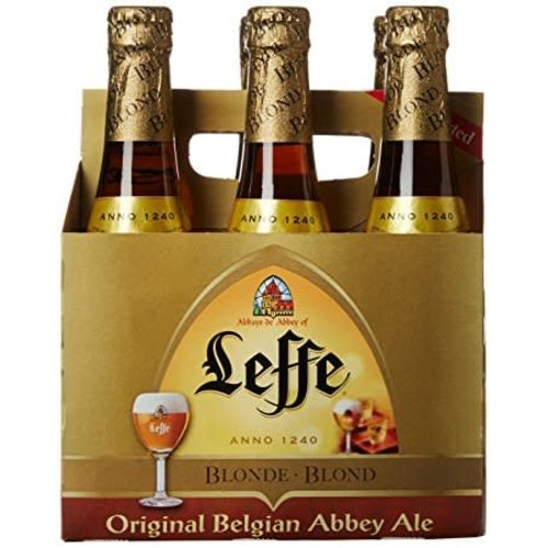 Leffe Blonde Ale ABV: 6.6% Bottle 11.2 fl oz 6-Pack