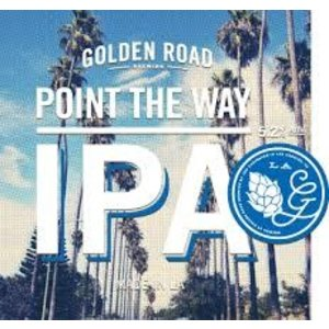 Golden Road Point the Way IPA ABV: 5.9% Can 12 fl oz 6-Pack