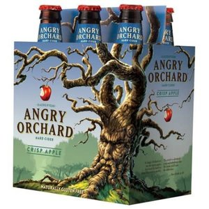 Angry Orchard Crisp Apple Cider ABV: 5% Bottle 12 fl oz 6-Pack