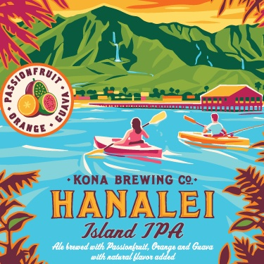 Hanalei Island IPA ABV: 4.5% Bottle 12 fl oz 6-Pack