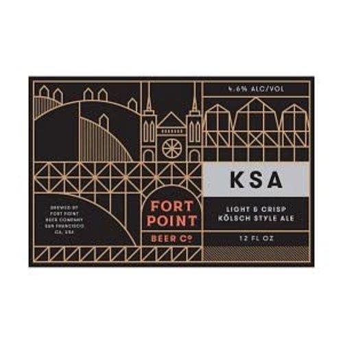 Fort Point KSA ABV: 4.6% Can 12 fl oz 6-Pack