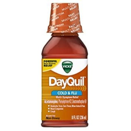 Dayquil Cold & Flu 8 fl oz