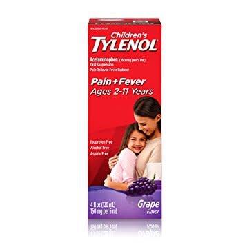 Children's Tylenol Cherry 4 fl oz