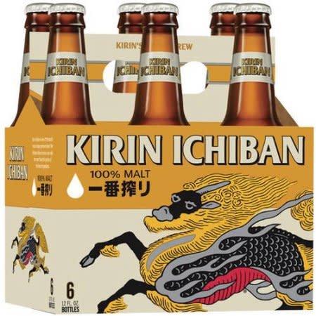 Kirin Ichiban ABV: 5% Bottle 12 fl oz 6-Pack