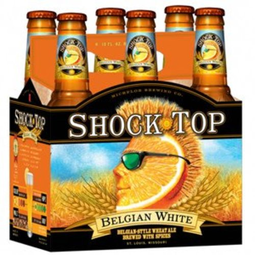 Shock Top Belgian White ABV: 5.2% Bottle 12 fl oz