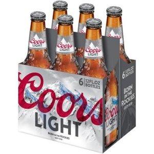 Coors Light ABV: 4.2% Bottle 12 fl oz