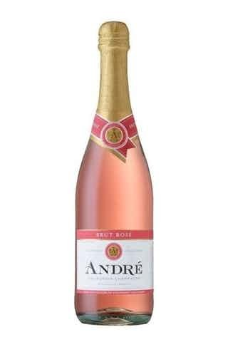 Andre Brut Rosé Champagne ABV: 9.5% 750 mL