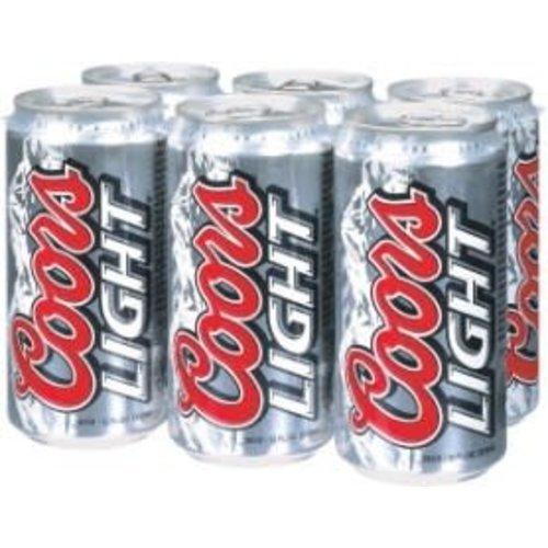 Coors Light ABV: 4.2% Can 12 fl oz