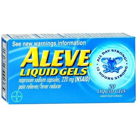 Aleve 20 Liquid Gels