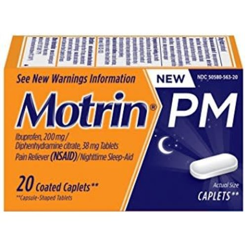 Motrin PM 20 Caplets