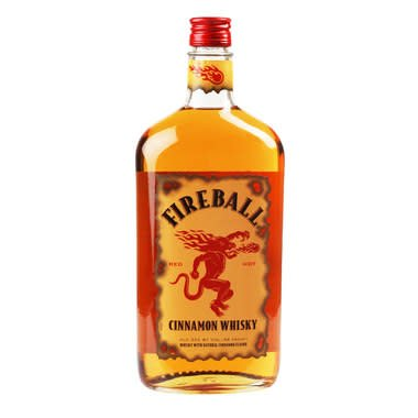 Fireball Cinnamon Whiskey ABV: 33%